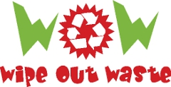 wipe out waste logo